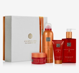 The Ritual Of Happy Buddha Energising Ritual Giftbox Medium