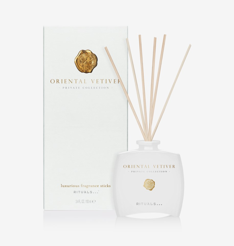 Oriental Vetiver Fragrance Sticks 100 ml