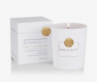 Oriental Vetiver Scented Candle 360g