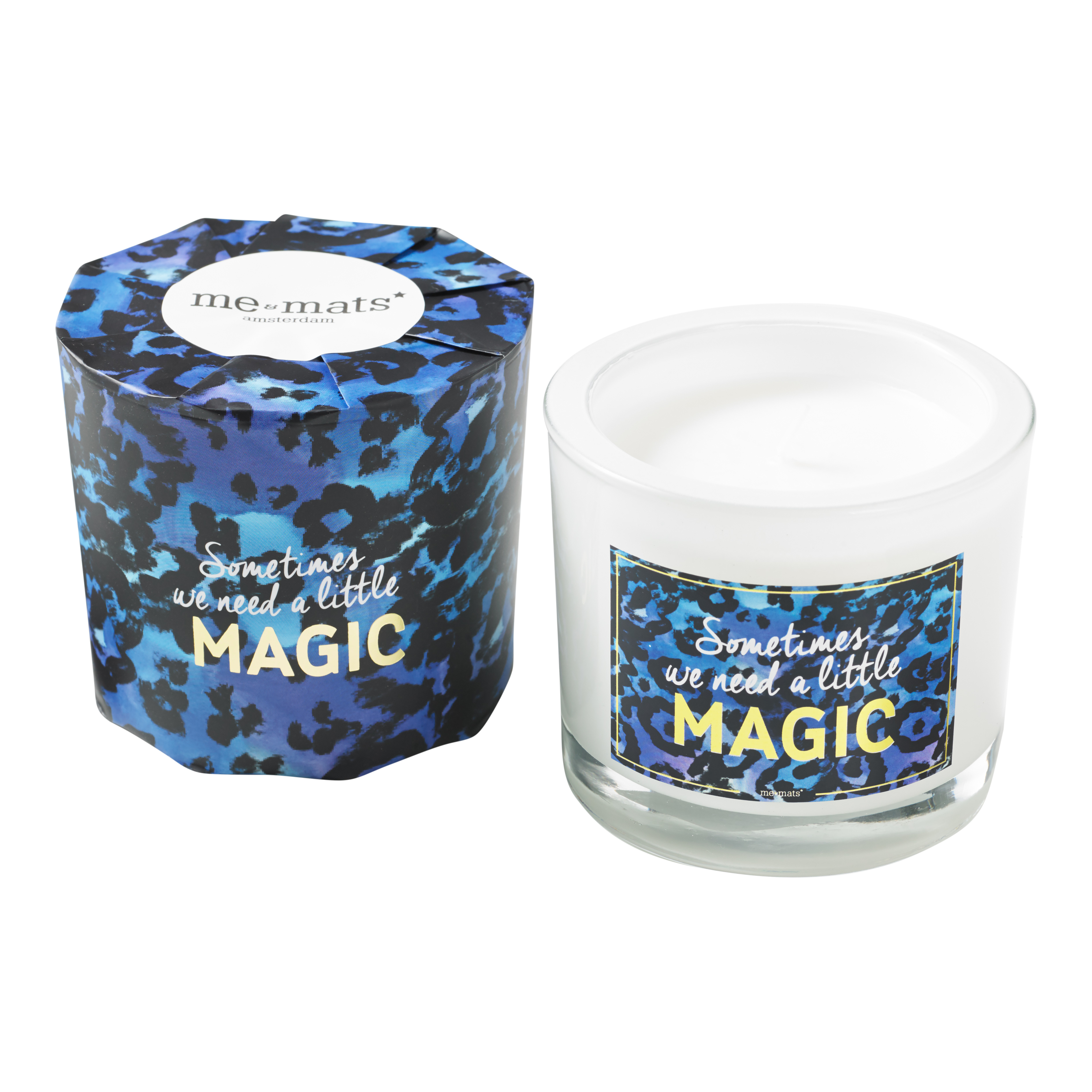Lets Create Some Magic Gold Jungle Collection Scented Candle 200 g