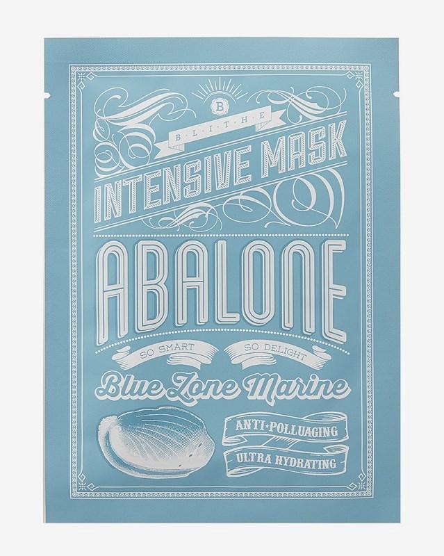 Blithe Blue Zone Marine Intensive Mask Abalone Facial masks:25g