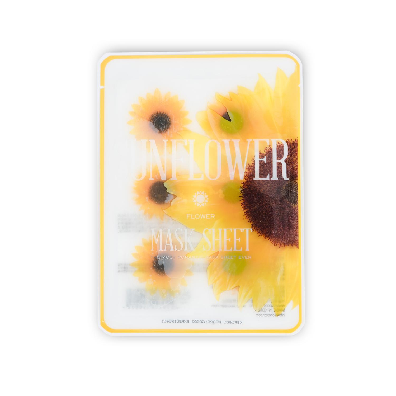 Sunflower Flower Sheet Mask