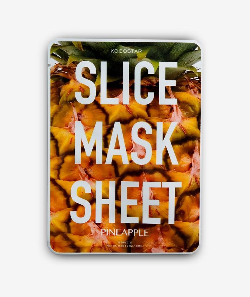Slice Mask Sheet (Pineapple)