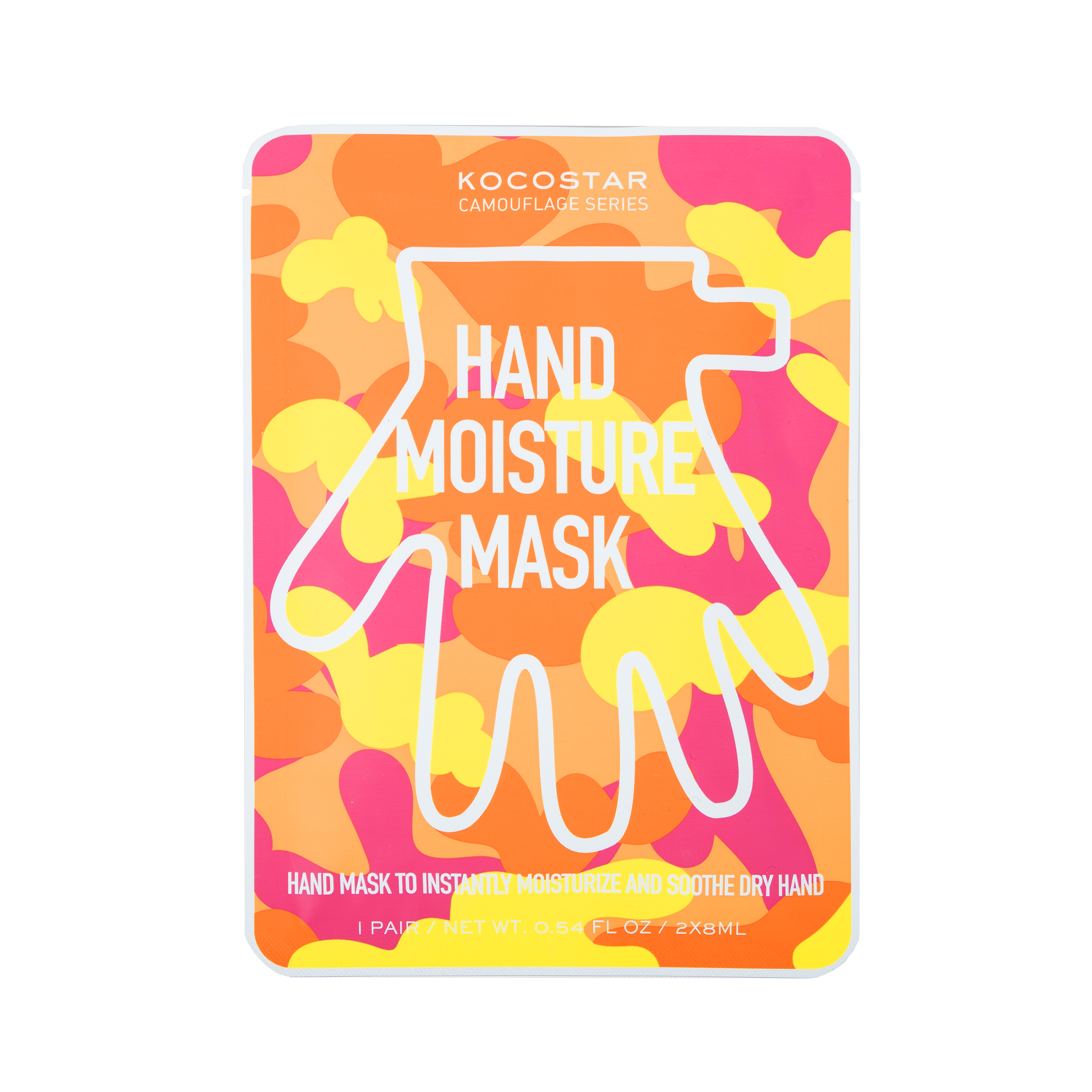Camouflage Hand mask