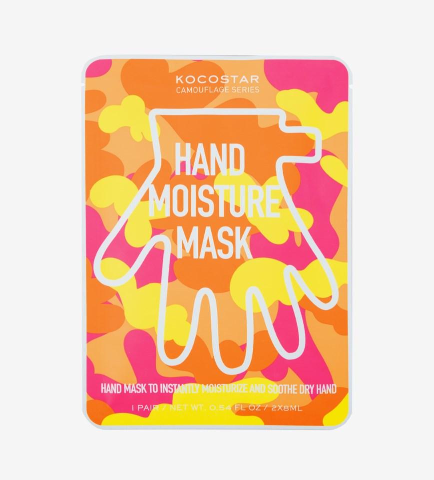 Camouflage Hand mask