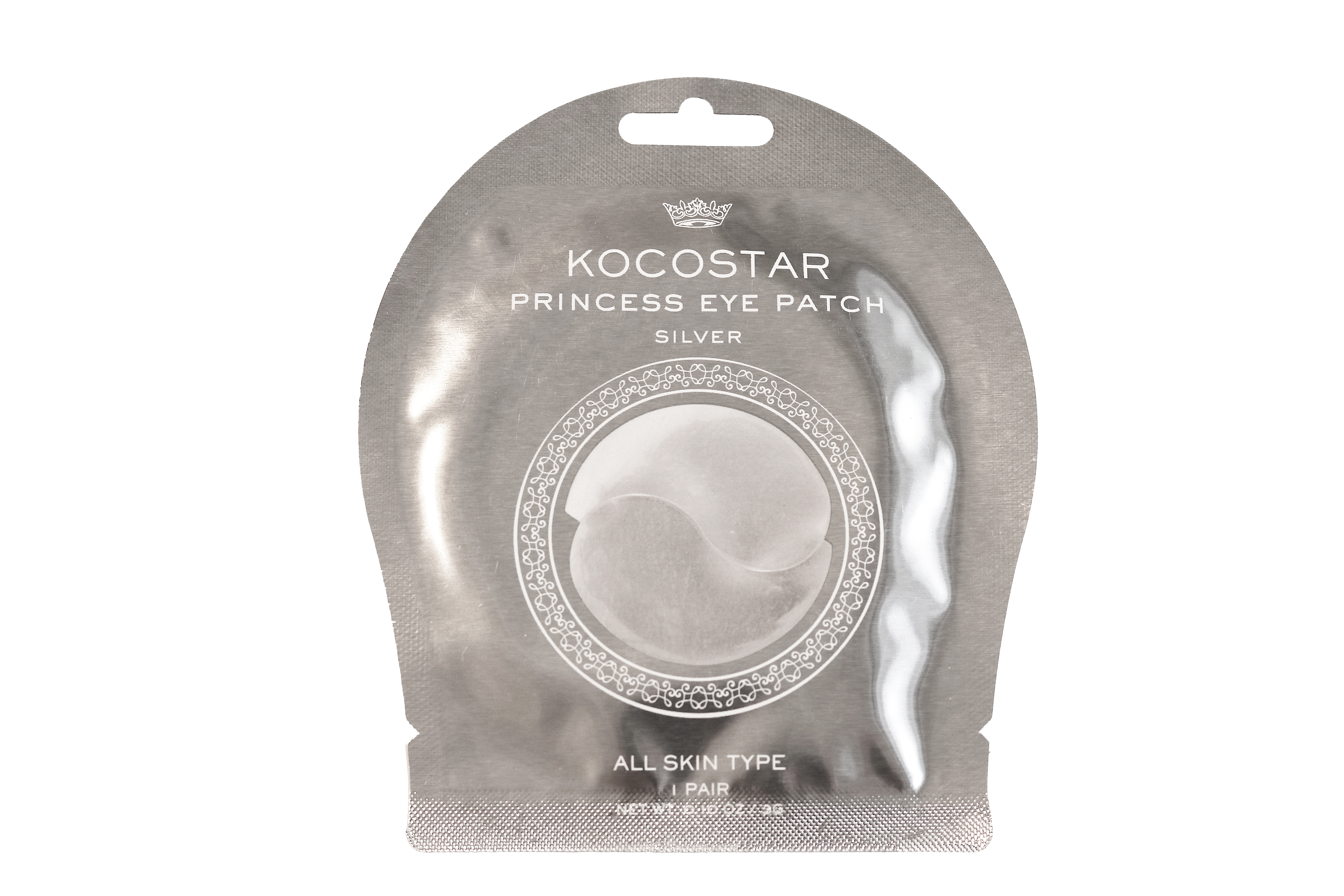 Princess Eye Patch Silver 1 pair