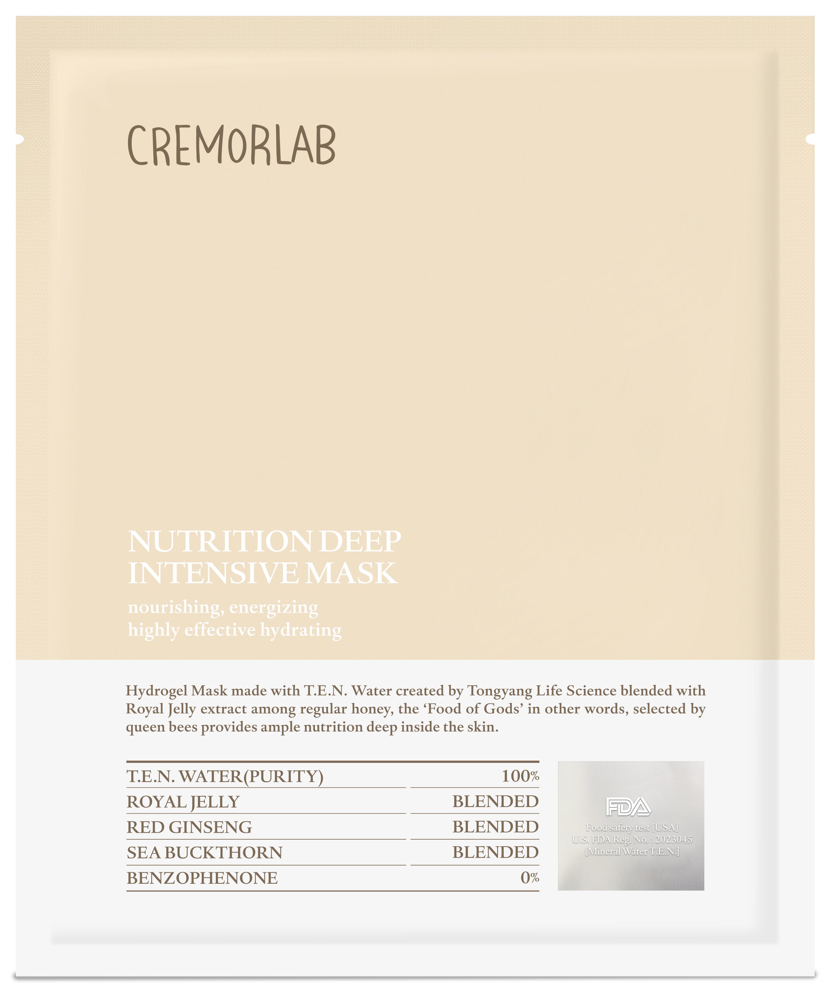Cremorlab Cremorlab Nutrition Cremorlab Cremorlab Nutrition Deep Intensive Mask  90573477