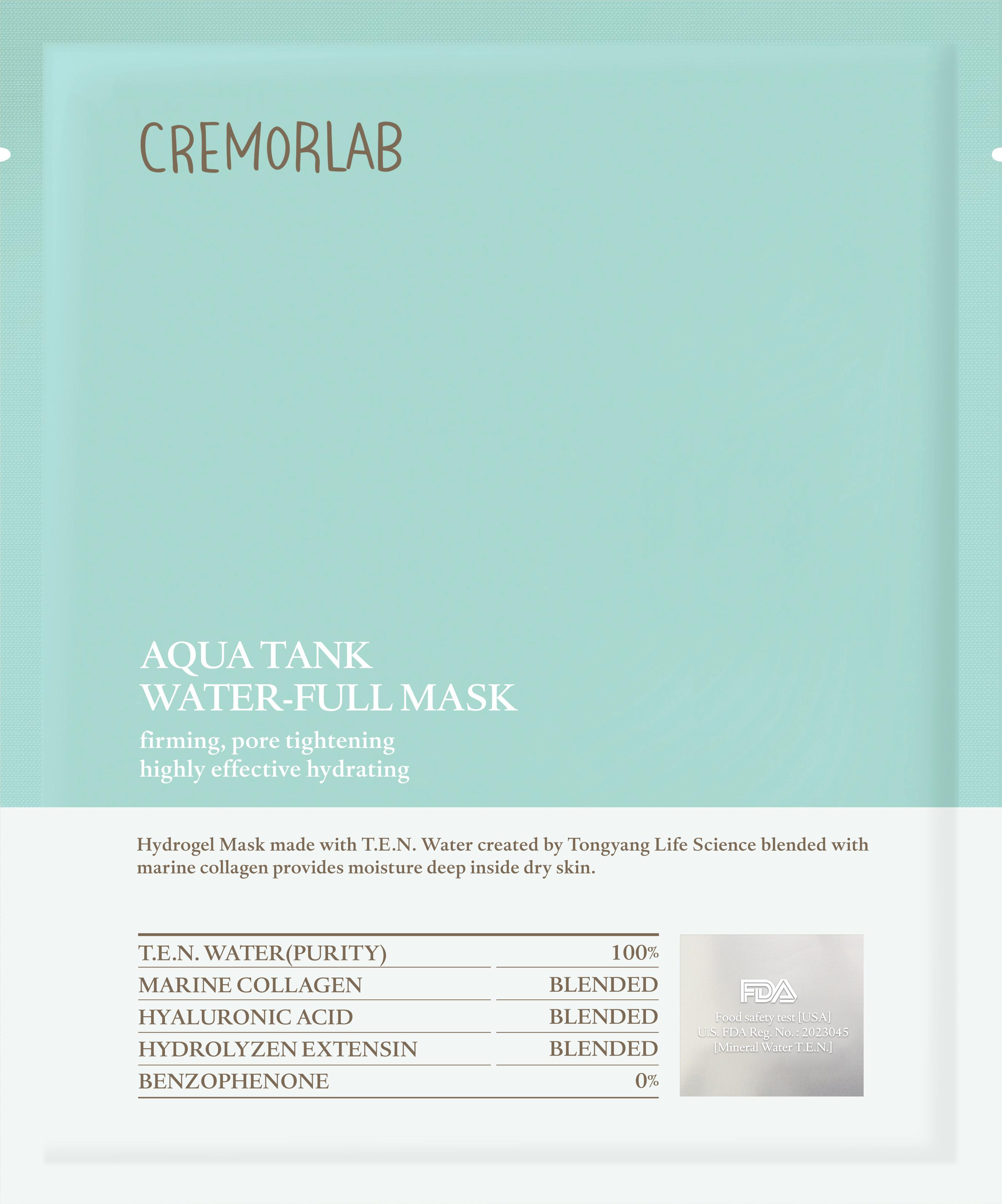 Cremorlab Cremorlab Aqua Tank Cremorlab Cremorlab Aqua Tank Water-full Mask Ansi 90573475