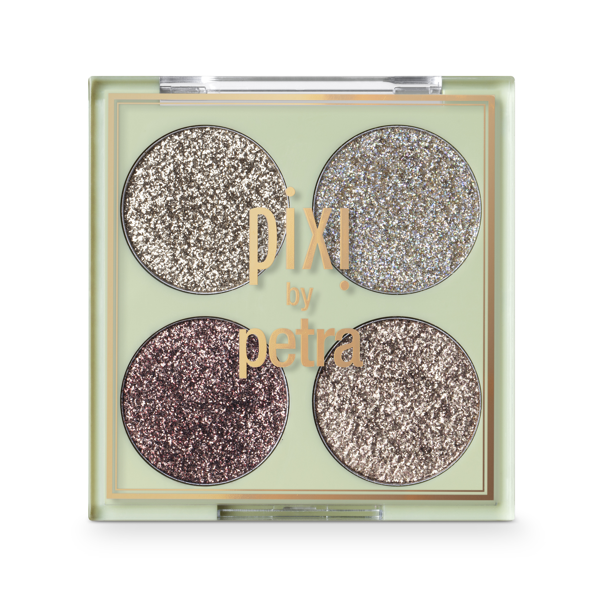 Glitter-y Eye Quad Eyecolor Kit GoldLava