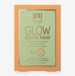 GLOW Glycolic Boost Sheet Mask 3pack