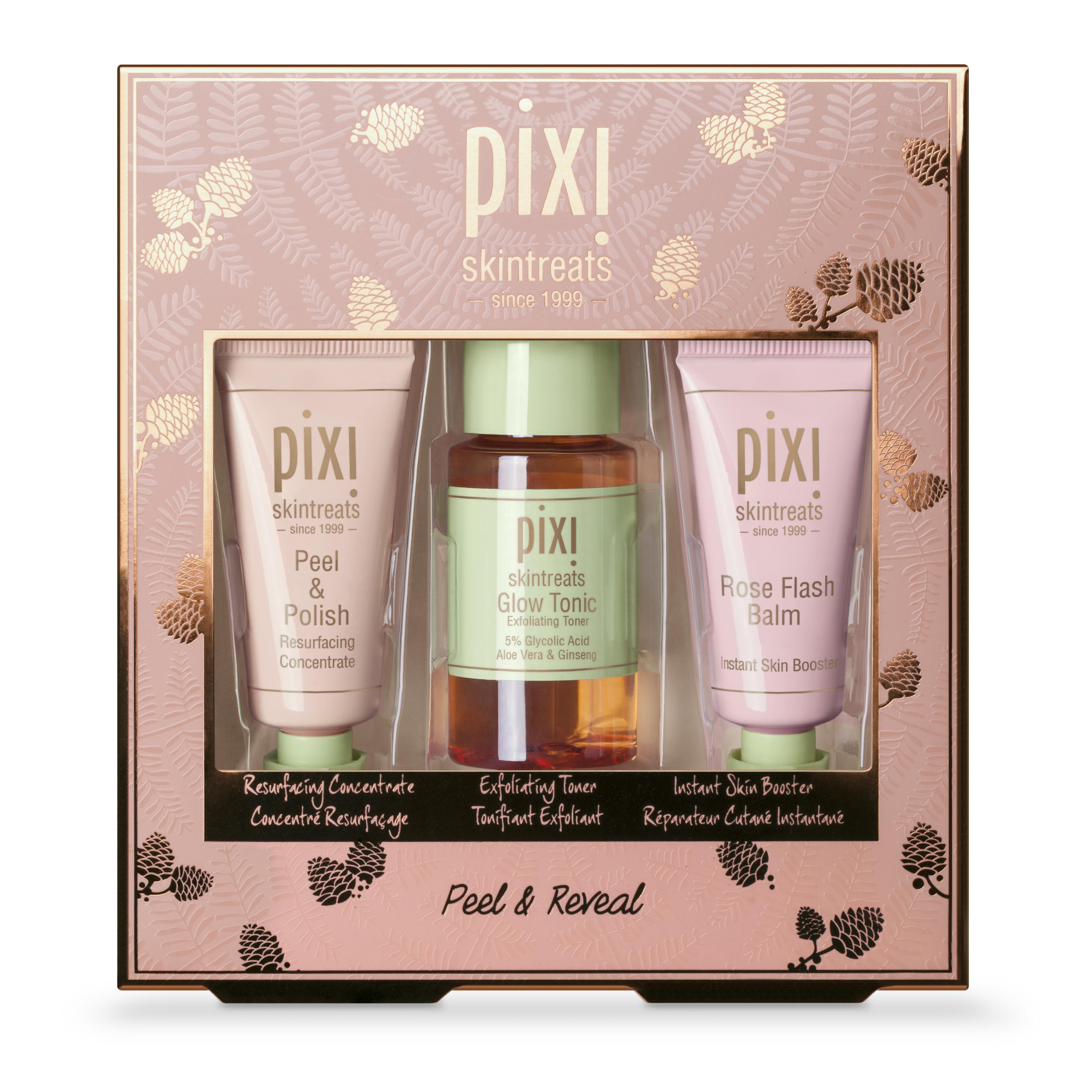 Pixi Peel & Reveal Face skincare kit:
