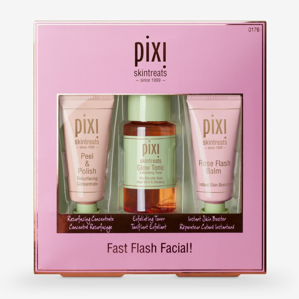 Fast Flash Facial!