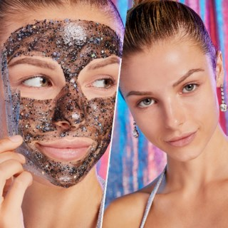 Black Glitter Facial Mask 50 g