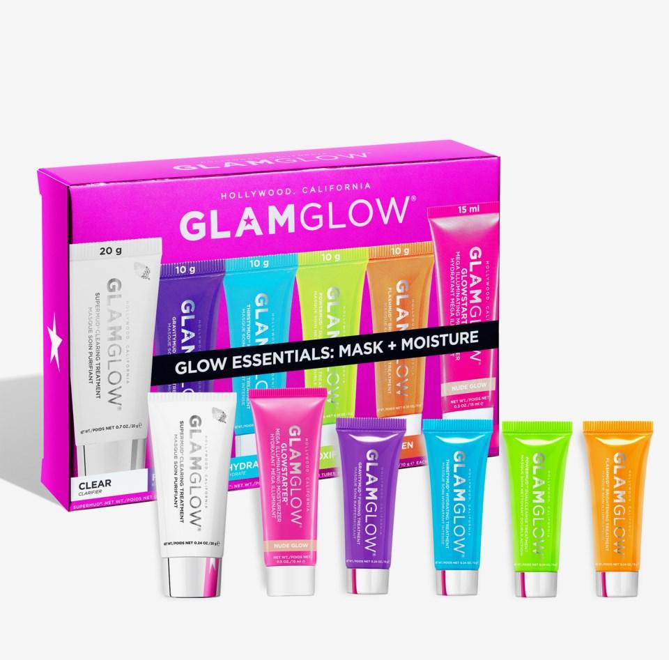 Glow Essentials Mask + Moisture 75g