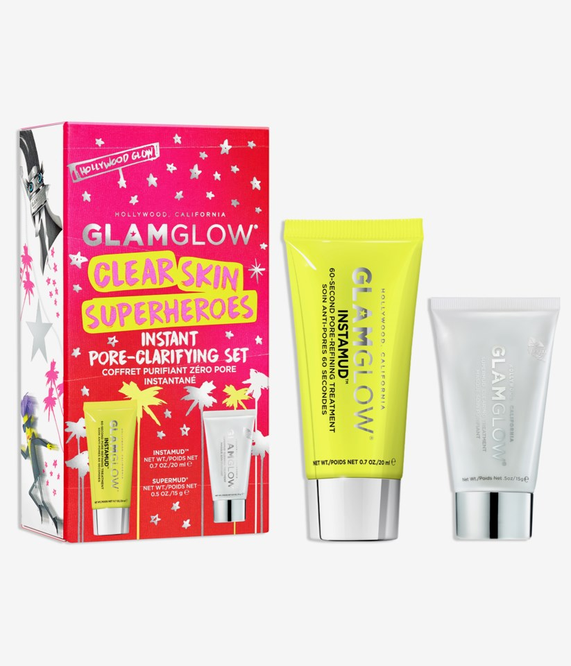 Clear Skin Superheroes Gift Box