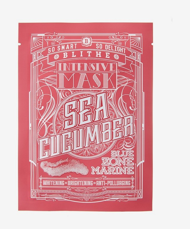 Blue Zone Marine Intensive Mask Sea Cucumber Facial Mask