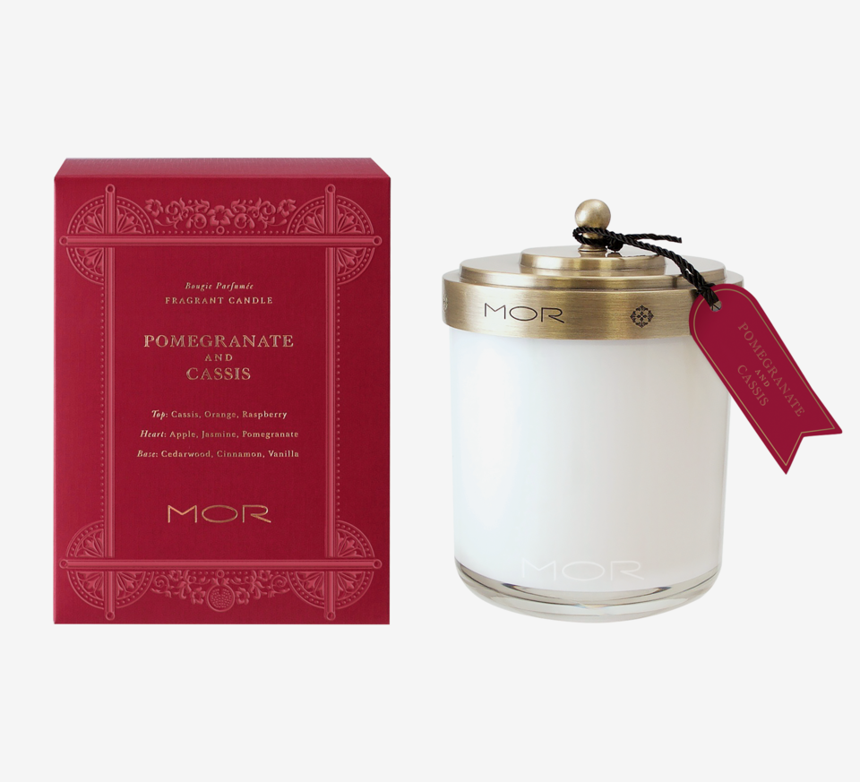 Library Pomegranate & Cassis Scented Candle