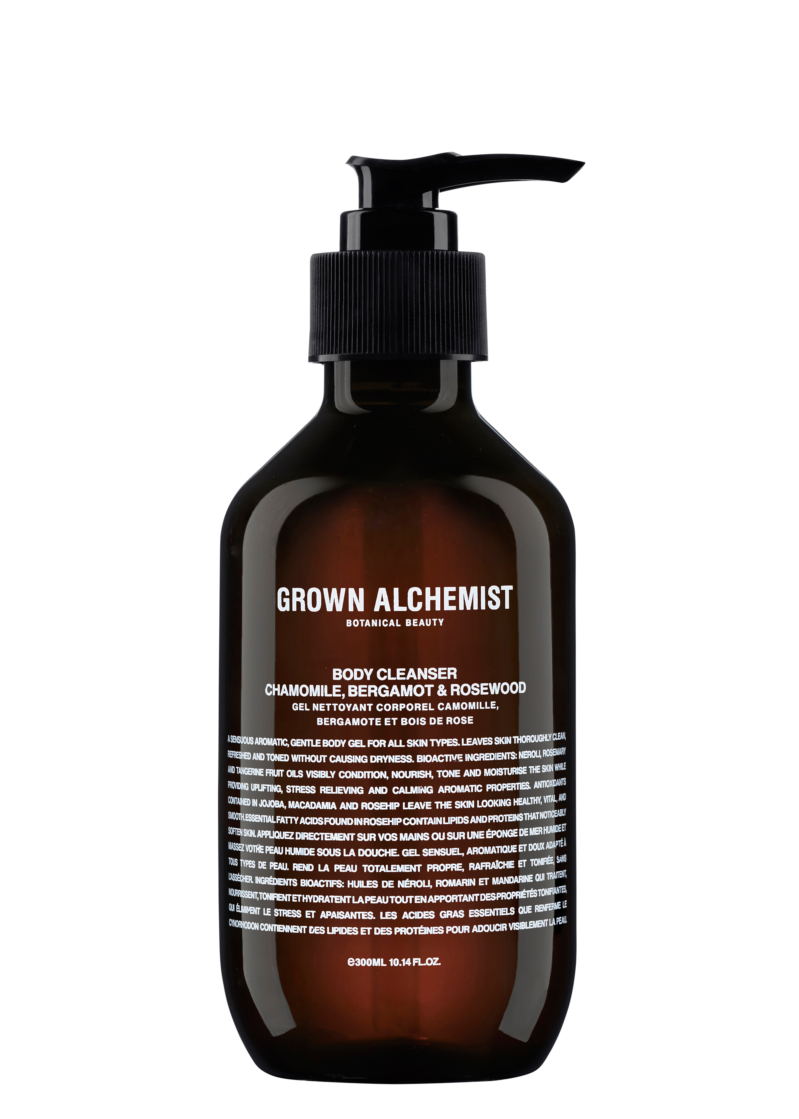 Chamomile/Bergamot/Rosewood Body Cleanser