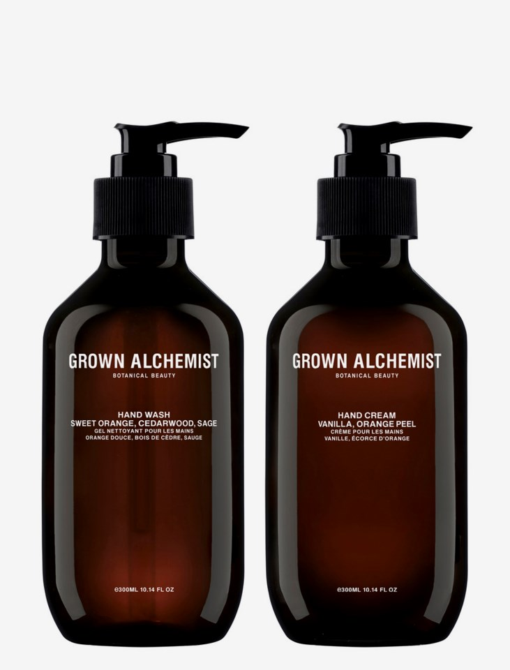 Hand Wash & Hand Cream Twin Set 600ml