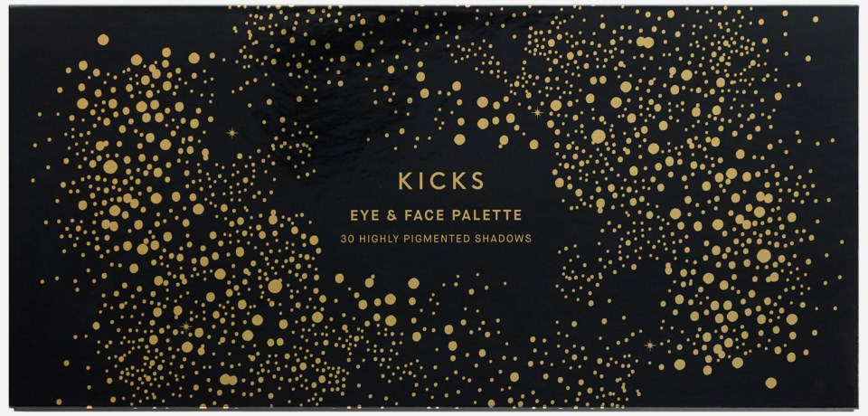 Large Eye & Face Christmas Palette