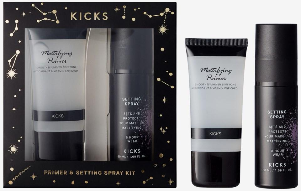Primer & Setting Spray Christmas Kit