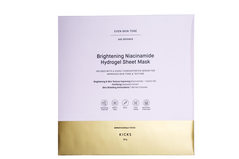 Brighthening Niacinamide Hydrogel Sheet Mask