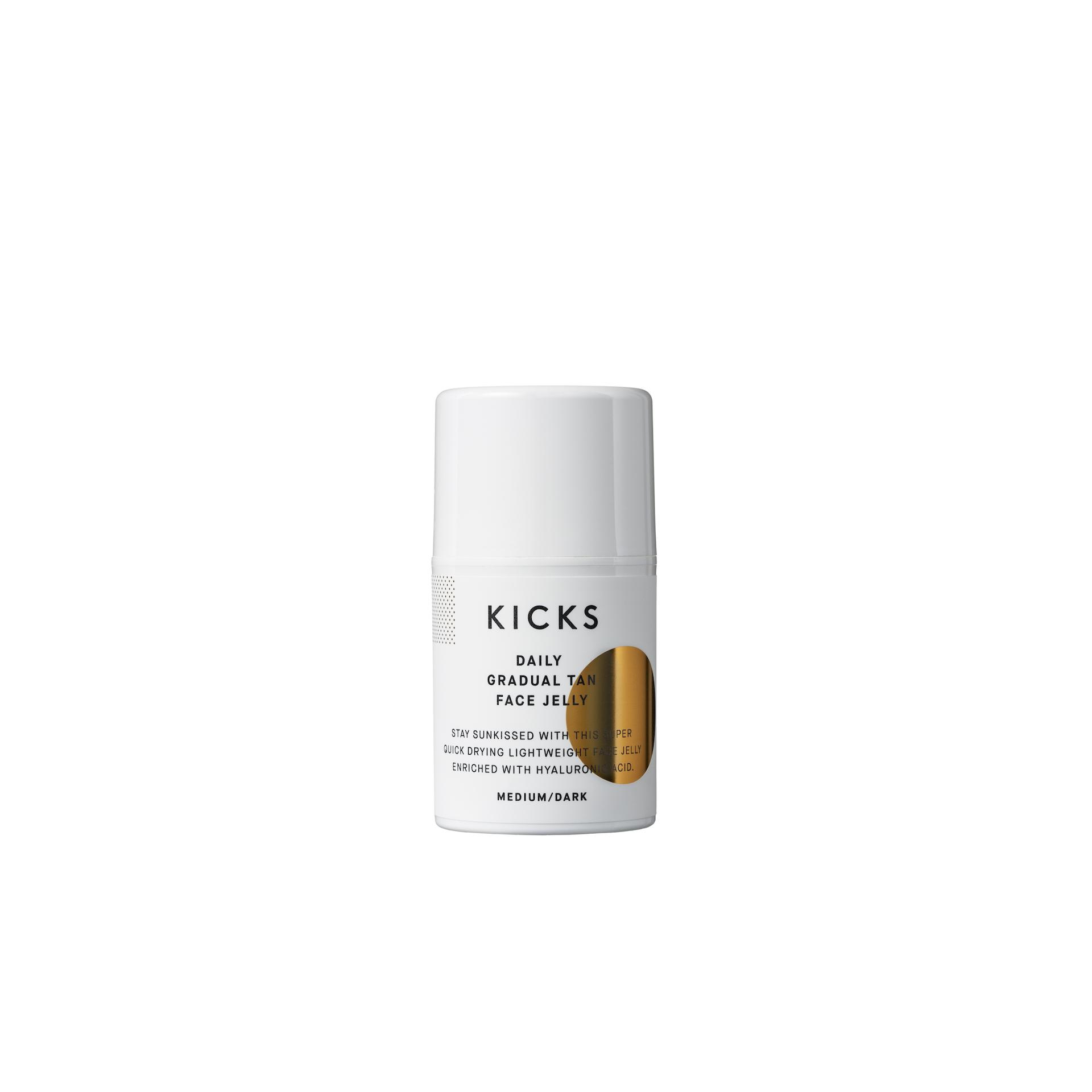 Daily Gradual Tan Quick-Drying Face Jelly Medium/Dark, 50ml