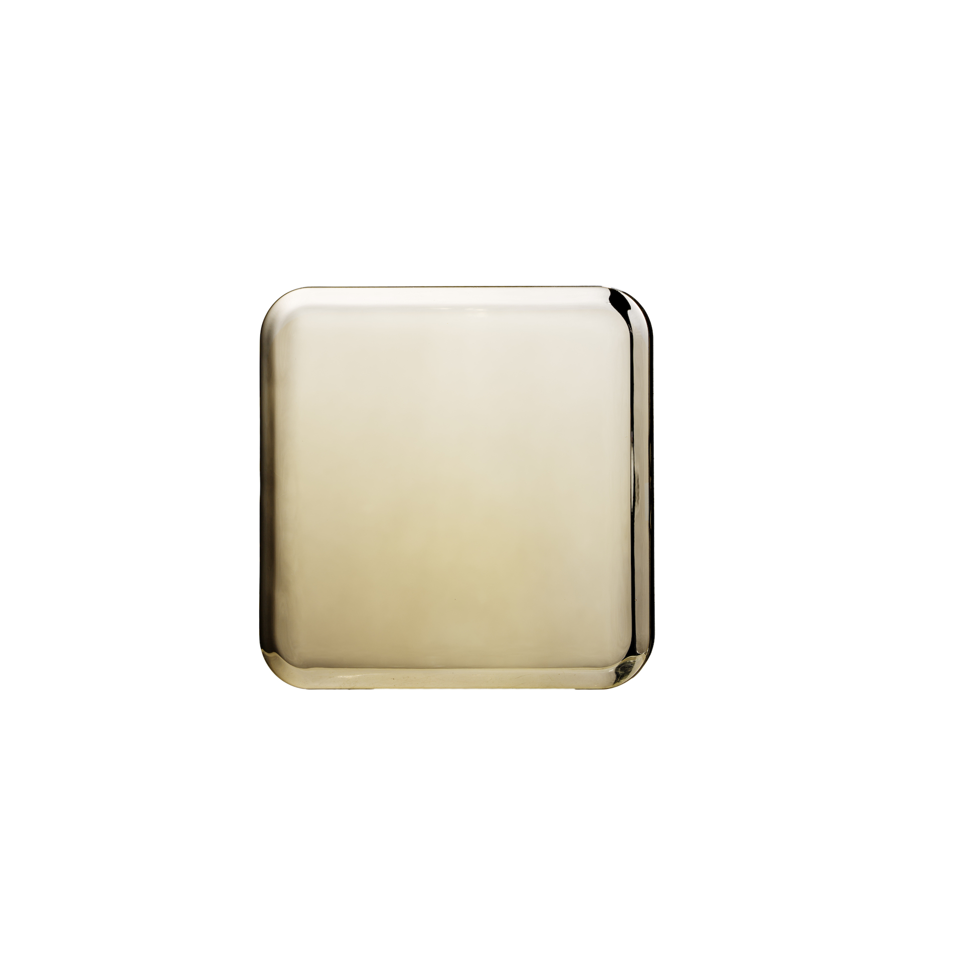 Double Sided Compact Mirror Gold