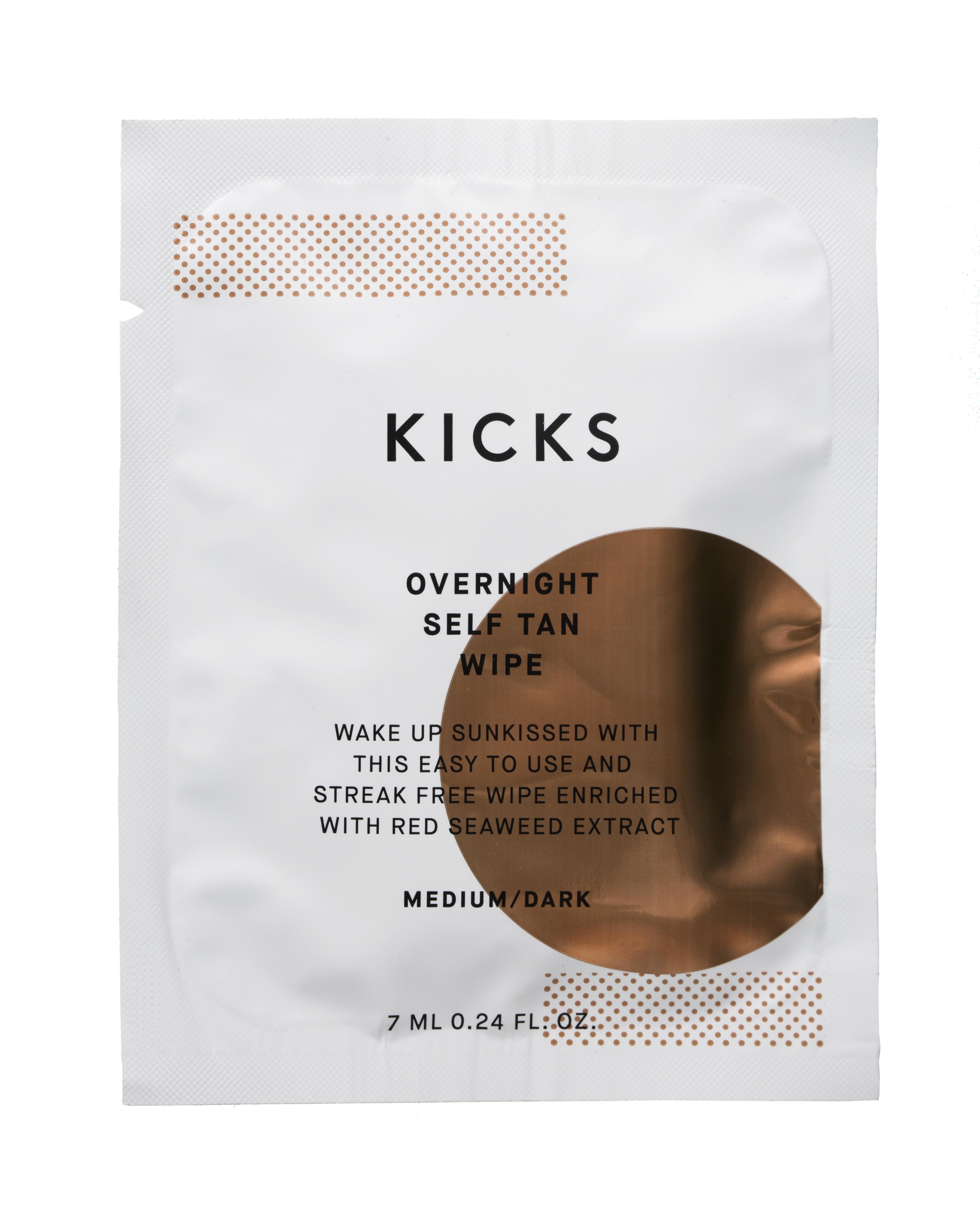 Overnight Self Tan Wipe Medium/Dark