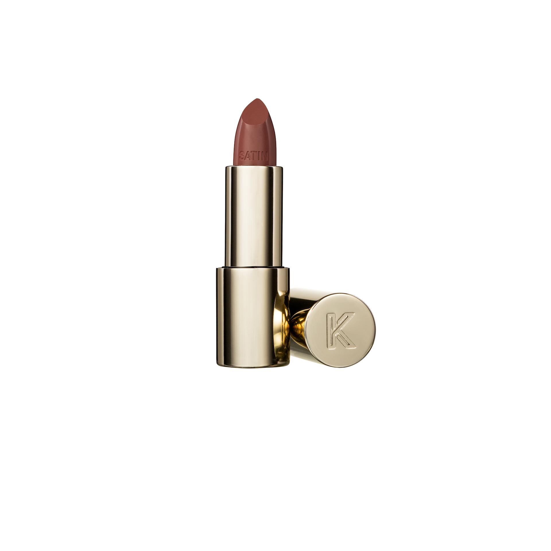Satin Lipstick 01 Creme Brulee