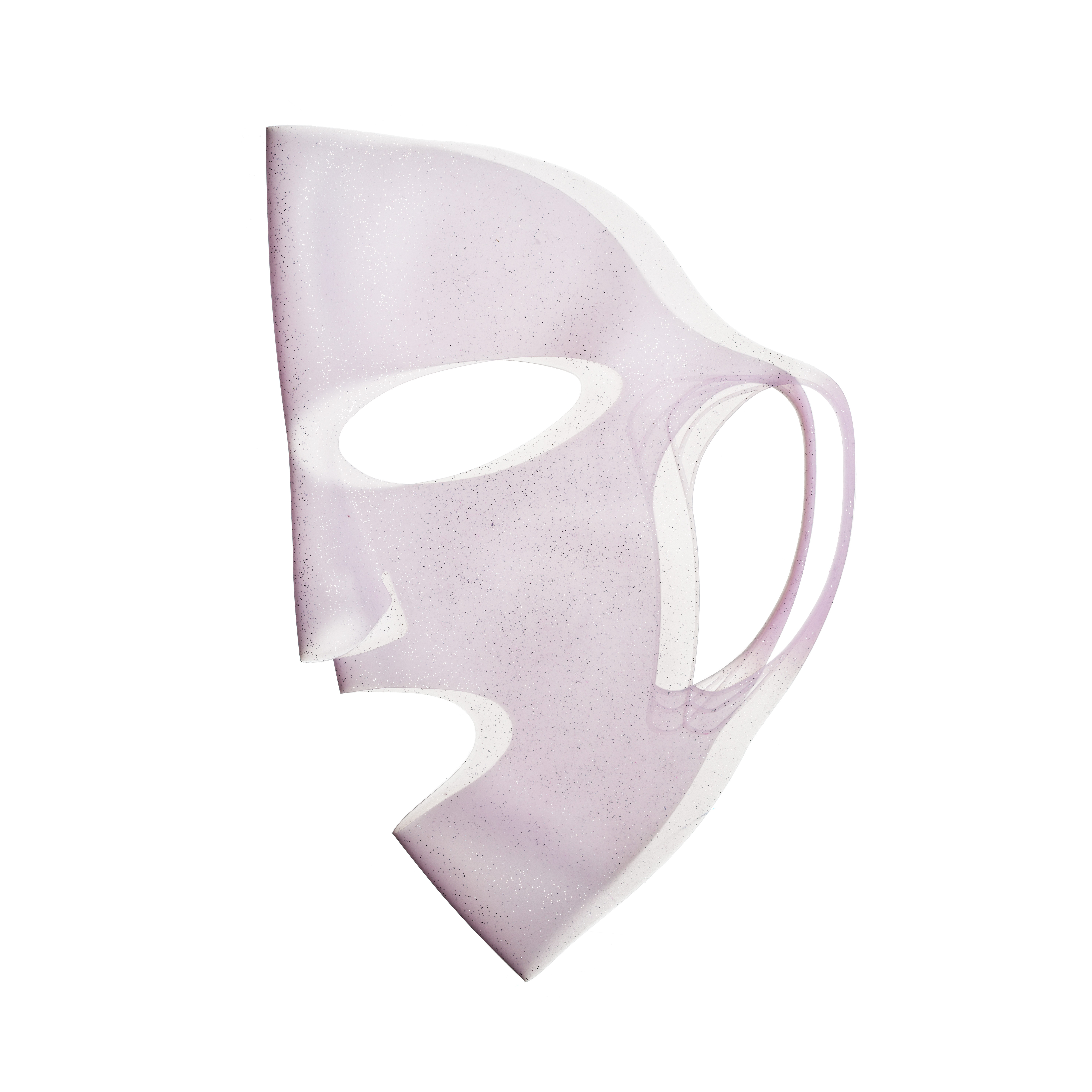 Silicone Sheet Mask Cover Pink Glitter