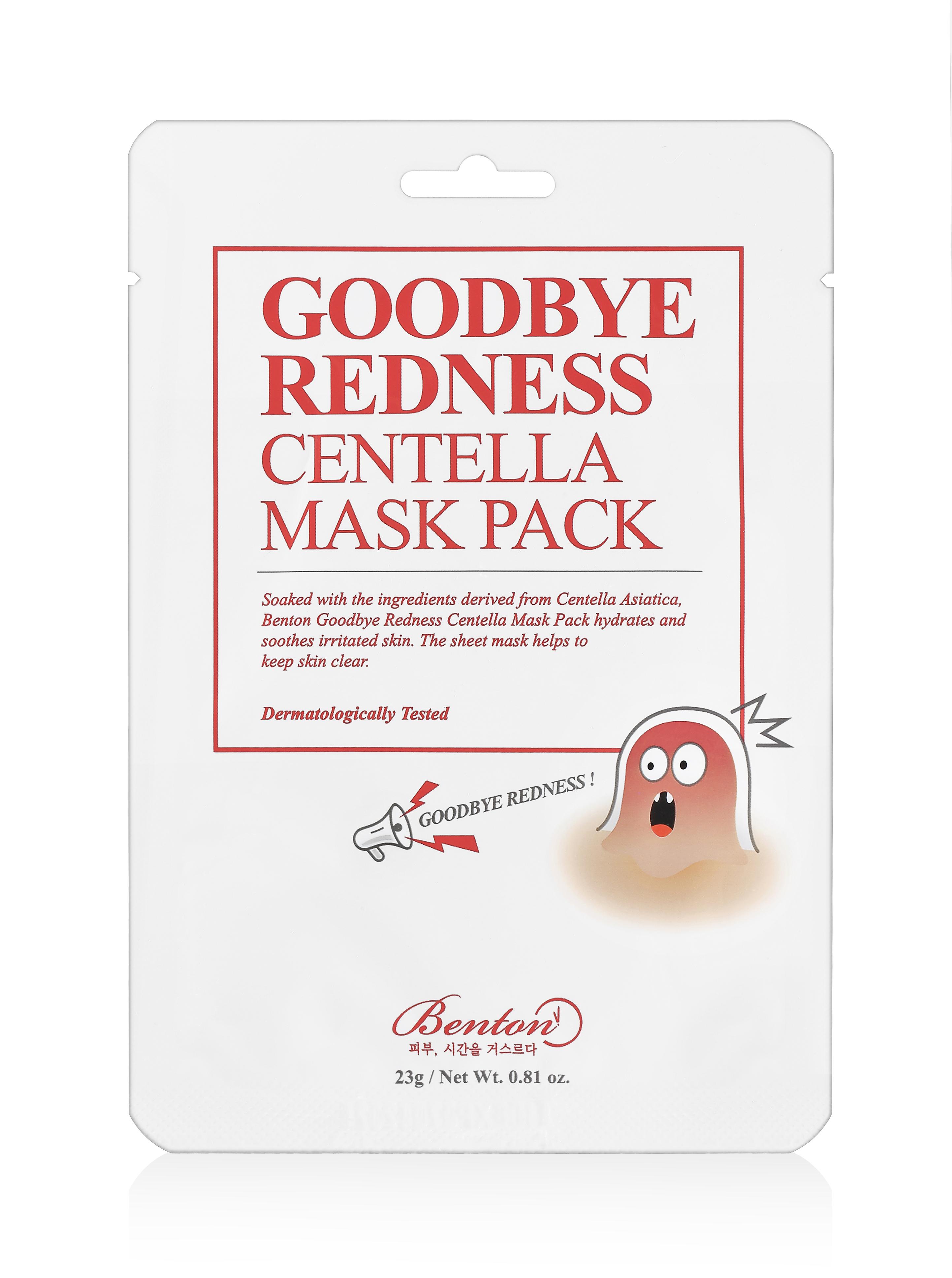 Bilde av Goodbye Redness Centella Face Mask 20 G