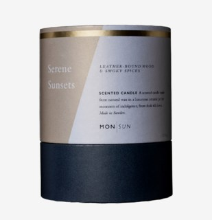 MON SUN Serene Sunsets Vitamin & Oil Scented Candle 210 g