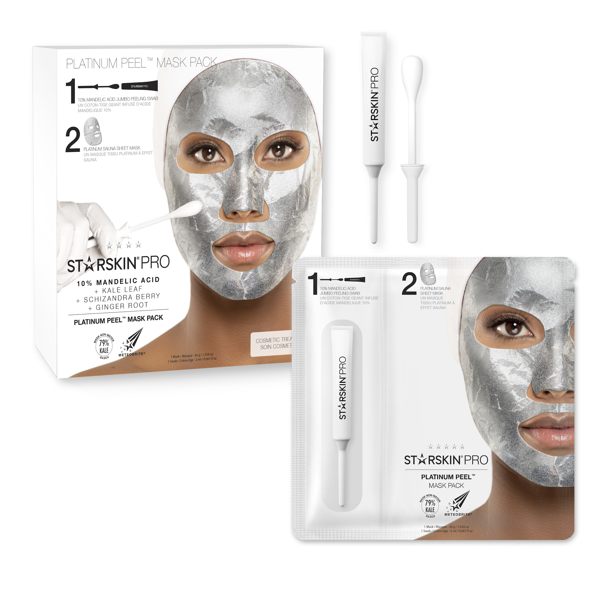 STARSKIN PRO® Platinum Peel™ Mask Pack