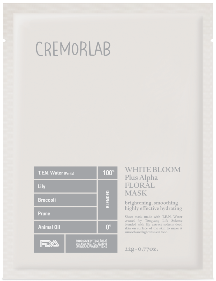White Bloom Triple Bright Floral Mask 25ml